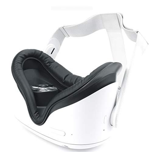 JCSW VR Brille, 3D Brille, 100°FOV, Geeignet 4,0-6,0 Zoll Smartphone Handy mit Bluetooth Controller für iPhone 12/11/X/Xs/Max/8P/7P/8/7, Samsung S10/S9/S8/Note 10/9/8/Plus, O280XB