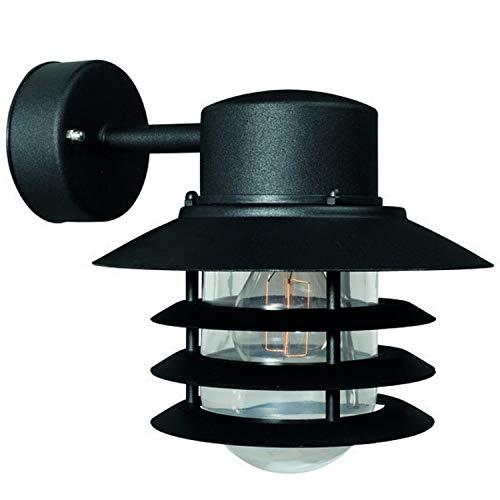 Nordlux 74471003 - Lampada da parete Vejers, 60 W, E27, colore: nero