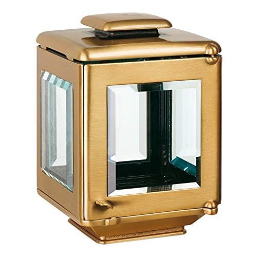 REAL VOTIVA FONDERIE D'ARTE Petite Lamp Bougie pour Pierres tombales - Bronze [T.05.2516/20]