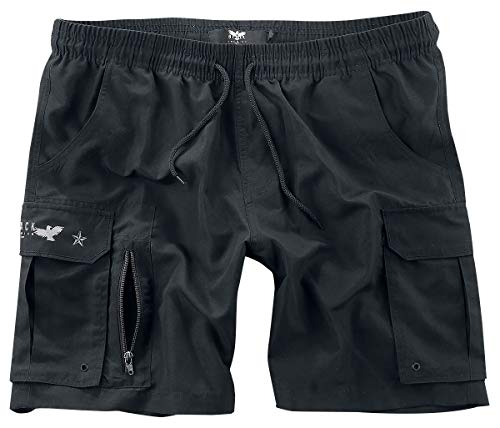 Black Premium by EMP Swimming Time Männer Badeshort schwarz L 100% Polyester Basics, Casual Wear