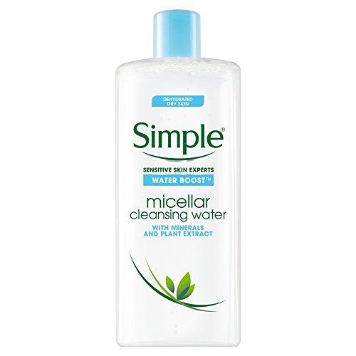 Simple Water Boost Facial Cleanser Micellar Water 400ml