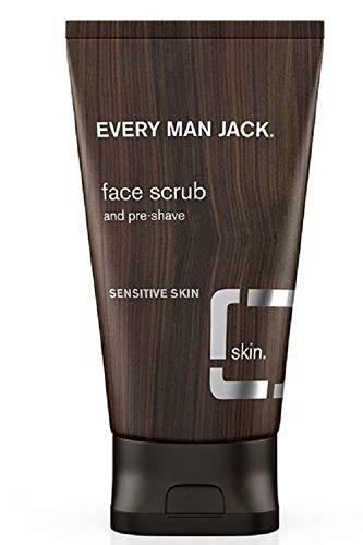 Every Man Jack Face Scrub, Fragrance Free, 5.0-ounce