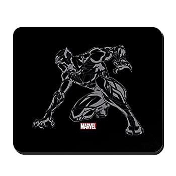 CafePress Black Panther Claw Mousepad Non-Slip Rubber Mousepad Gaming Mouse Pad