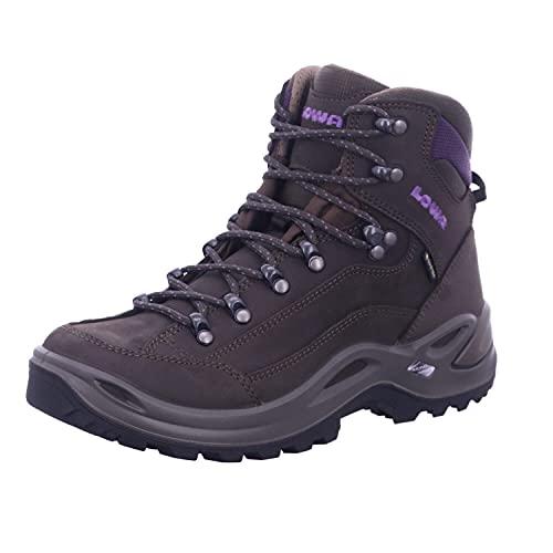 Lowa Women's RENEGADE GTX MID WS High Rise Hiking Boots, Grau (Ardesia/Moro 7937),5.5 UK/39 EU