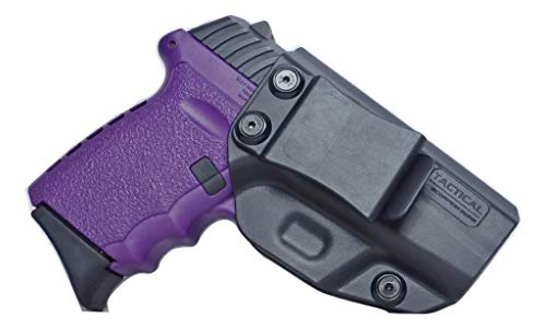 Tactical Scorpion Gear Polymer Concealed IWB Inside Pants Holster: fits SCCY 9MM CPX1 CPX2