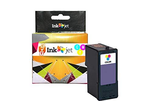 CVT - Tinta Compatible 37XL Tricolor para Lexmark X3650 X4650 X5650 X5650es X6650 X6675 Z2400 Z2420