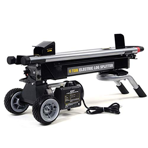 MY HOPE Electric Hydraulic 1500W 6 Ton Log Splitter Wood Cutter Powerful New Modern