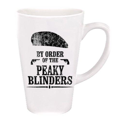 Taza con diseño de Peaky Blinders con botella de agua y taza de...