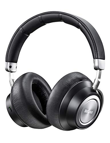 Boltune Noise Cancelling Headphones, [2019 Upgraded] Bluetooth Headphones with Microphone/Deep Bass...