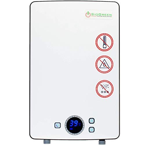 Sio Green IR288 v2 POU Infrared Electric Tankless Water Heater - None Corrosion - Extends The Life of Tankless Water Heaters - 220v - 240v / 40A / 9kW