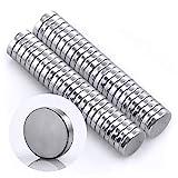 Omnicube - R&e N35 Neodym Magnete Extra Stark (50 Stück) | 5x1mm Starke Magnete | Geeignet für Magnettafeln, Kühlschränke, Whiteboards & vieles mehr