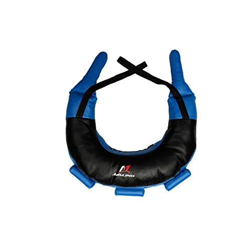 Malino PROFESSIONAL BULGARIAN BAG BOXING FITNESS WORKOUT PHYSICAL TRAINING POWER SAND BAG BLACK AND BLUE