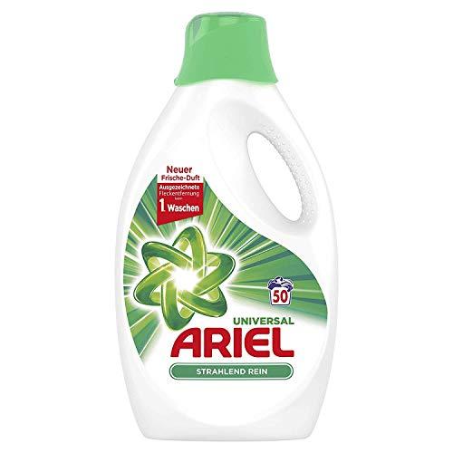 Ariel Universal vloeibaar wasmiddel stralend zuiver 2,75 l, 50 wasbeurten