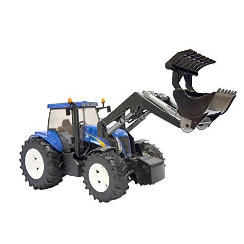 bruder 03021 New Holland T8040 - Excavadora en Miniatura