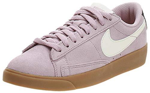 Nike W Blazer Low SD, Zapatillas de Baloncesto Mujer, Multicolor (Plum Chalk/Sail/Oil...