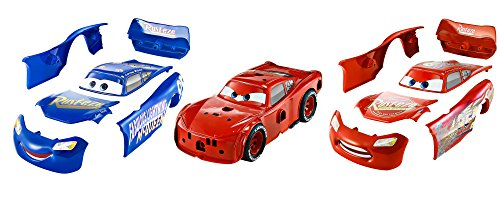 Cars-FCV95 Coche Tuning Rayo Mcqueen,, 26 cm (Mattel FCV95)