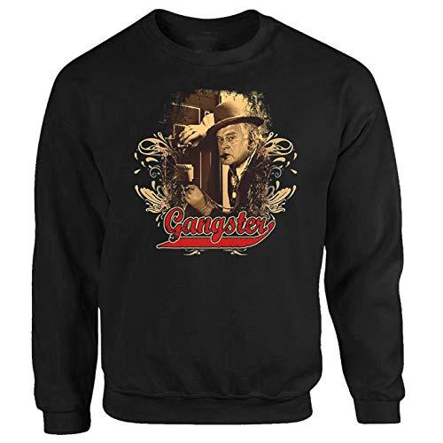P-T-D Egon Gangster Tresor Benny Kjeld Dänemark Kult Serie Sweatshirt Pullover (S)