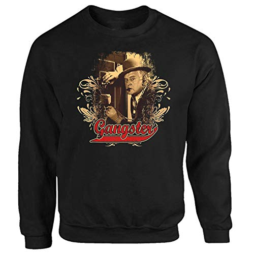 P-T-D Egon Gangster Tresor Benny Kjeld Dänemark Kult Serie Sweatshirt Pullover (M)