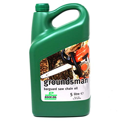 Rock Oil 5 litres Groundsman Chainsaw Oil Non-Fling Sticky - Chain + Bar...