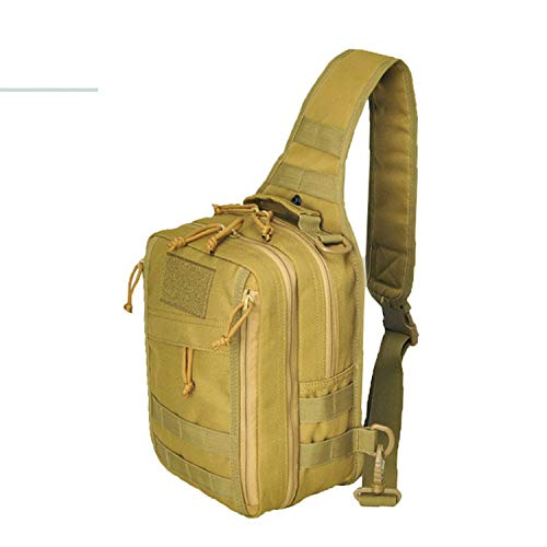 GZRUIGE Tactical Bag Military Assault Molle Shoulder Single Bag Camo Backpack Men Hunting Camping 1000D Nylon Can Be Loaded Pistol
