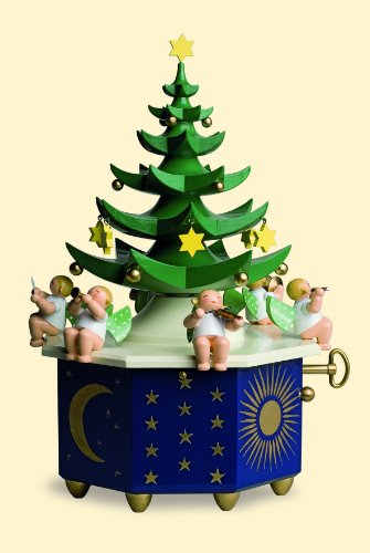 Wendt & Kühn Spieldose Tannenbaum - Am Weihnachtsbaum die Lichter Brennen