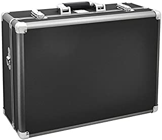 Professional Series Metal Frame Customizable Medium Hard Case with Locks for High Impact Absorption - Photographic Equipment
