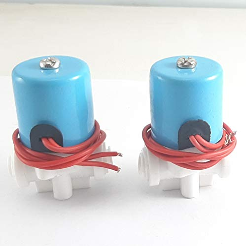 12 Volt Copper Solenoide Valve (Set of 2) for Water Purifiers, Science Experiments. Made in India, Vocal for Local