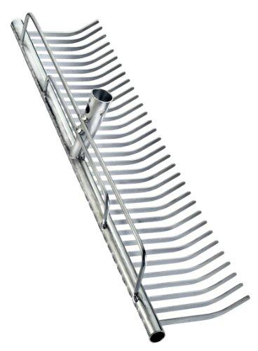 Connex Rasenrechen verzinkt 700mm / Rasenharke / Heurechen / Laubrechen / Gartenrechen / Garten / FLOR50070