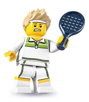 LEGO 8831 Minifigure Series 7 - Tennis Ace