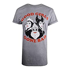 Disney Good Girls Gone Bad Villians Camiseta para Mujer