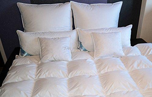TM Maxx Kasetten Federdecke Ganzjahresdecke Bettdecke • Größe und Füllung zur Auswahl (135x200cm, 1200g)