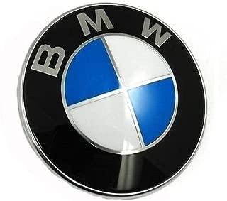 Myhonour Emblem 74 mm Hinten Motorhaube Kofferraum mit Schwarz /& wei/ß 1 3 5 7 Serie X1 X3 X5 X6