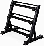 ALLYSON FITNESS HEAVY DUTY 3 Tier Metal Steel Home Workout Gym Dumbbell heavy Weight Rack Storage Stand For Home Gym and Gym