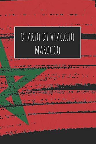 Diario di Viaggio Marocco: 6x9 Diario di viaggio I Taccuino con liste di controllo da compilare I Un regalo perfetto per il tuo viaggio in Marocco e per ogni viaggiatore