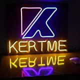 KERTME DC12V Silicon Neon Led Light Strip, Safety, Super-Bright, Flexible & Waterproof Rope Light for Advertising Signboard, Brand Logo, Home Shop DIY Design Decor (8x16mm, 16.4ft/5m, White)