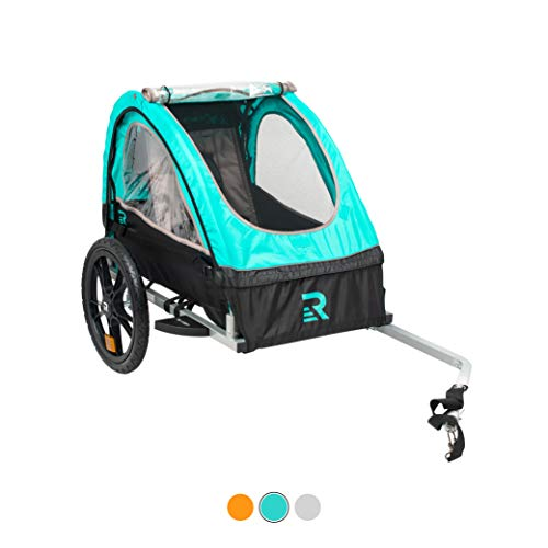 Lowest Prices! Retrospec3356 Rover Kids Bicycle Trailer Single and Double Passenger Children's Fol...