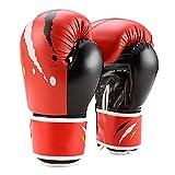 NeoMcc Guantes de Entrenamiento de Boxeo Guantes de Boxeo 6oz 10oz Junior Adulto...