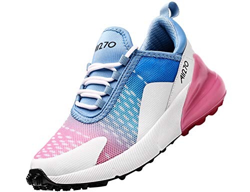 SINOES Femme Homme Running Baskets Chaussures Outdoor Running Gym Fitness Sport Sneakers Style Multicolore Respirante Multicolore 38 EU