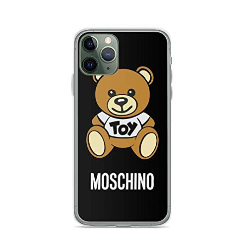 Phone Case Mos-chi-no Toy Bear Compatible with iPhone 6 6s 7 8 X XS XR 11 Pro Max SE 2020 Samsung Galaxy Shock Drop