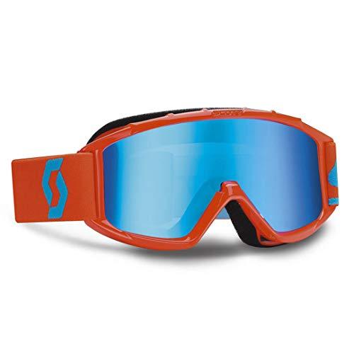 SCOTT 89Si Pro Chrome Works MX Brille Blau