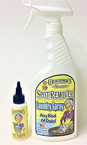 CESDes Grandma#039s Secret Spot Remover and Laundry Spray Bundle for Those Tough Spots