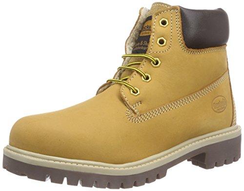 Dockers by Gerli 35FN701-300 Combat Boots, Gelb (golden tan 910), 39 EU