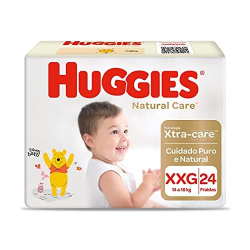 Fralda Huggies NATURAL CARE XXG 24 unidades