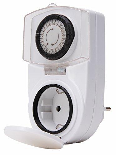 Kopp 195102075 Zeitschaltuhr IP44 Tag weiß