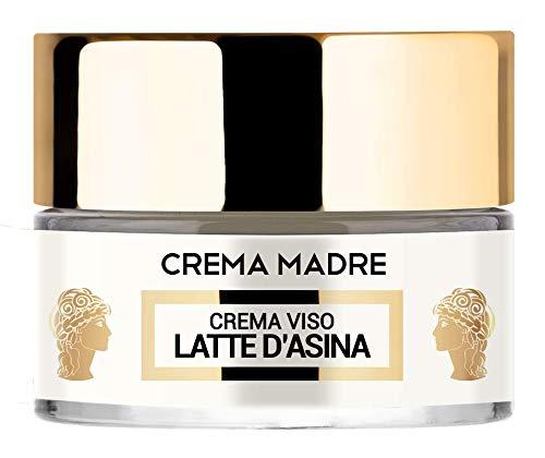 Crema Madre per il viso al Latte d Asina, riparatrice, idratante, antiossidante e nutriente con vitamine A, B, C, E e acidi grassi Omega-3 e Omega-6 (50 ml) - LR Wonder Company