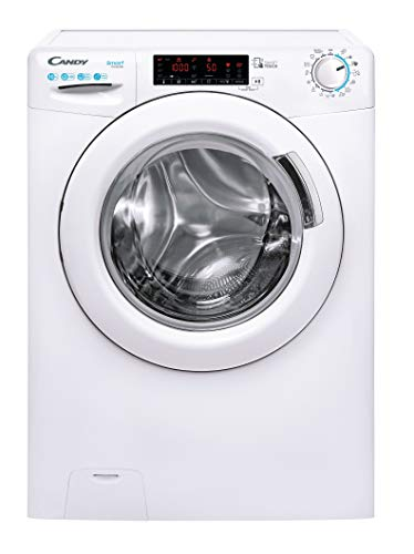 CANDY SMART CS 1410TXME/1-S Lavatrice, 10 kg, 1400 rpm, Bianco [Classe di efficienza energetica A+++]