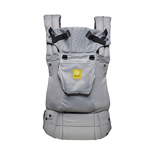 Lillebaby The Complete Airflow 360° Ergonomic SixPosition Baby amp Child Carrier Silver