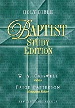 Holy Bible Baptist Study Edition: New King James Version Burgundy Bonded Leather