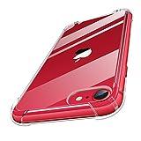 MoKo Kompatibel mit Neu iPhone SE 2020 Hülle/iPhone 8 Hülle/iPhone 7 Hülle, Kristall Durchsichtig...