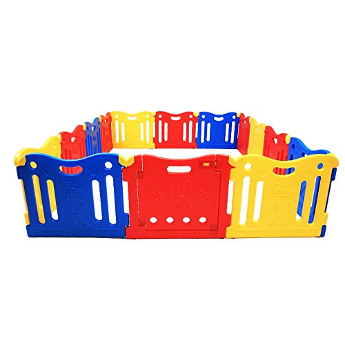 Best Review Of XUROM Baby Playpen Baby Playpen Kids Activity Center Safety Fence Indoor Play Area fo...